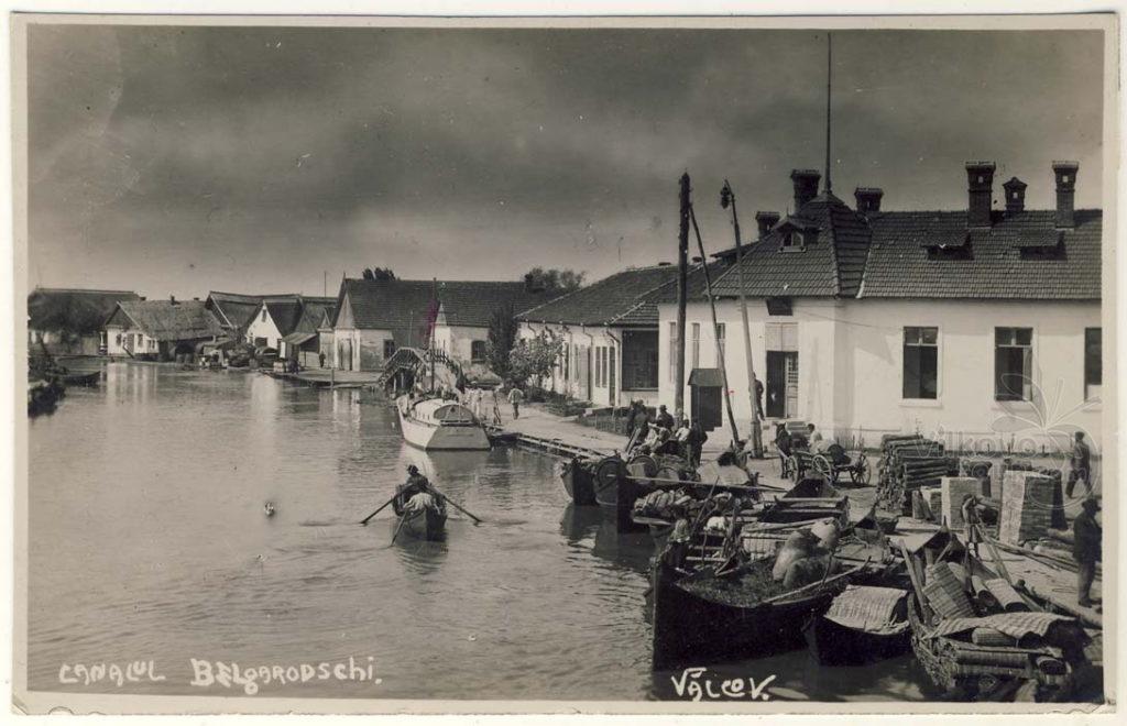 Белогородский канал в Вилково