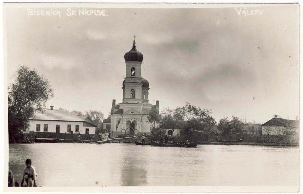 Храм Рождества Пресвятой Богородицы на берегу Дуная