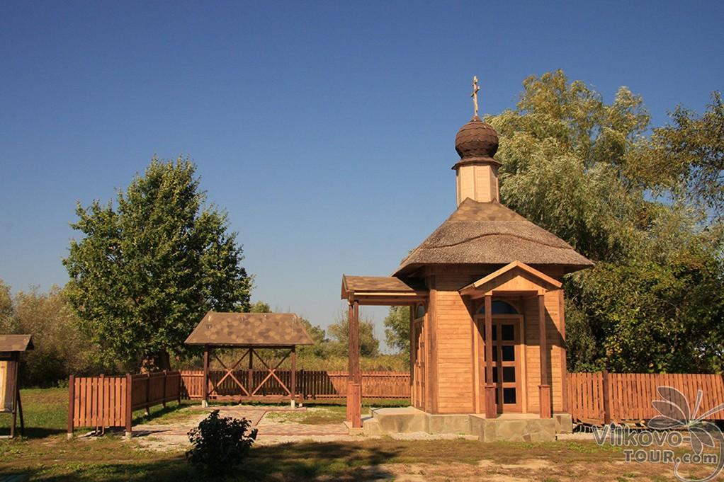 Старообрядческая часовня на островной стоянке Вилково-Тур
